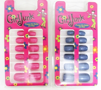 Image Girl Junk Press on Nails
