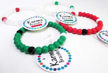 Image Christmas Karma Bracelets