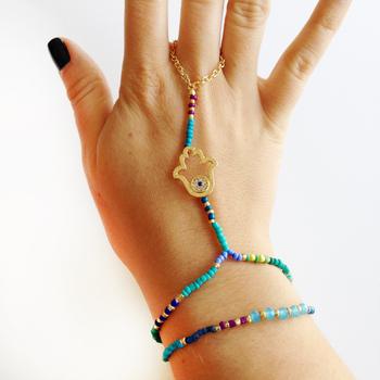 Image Hamsa Hand Chain