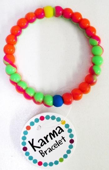 Image Neon Tye Dye karma Bracelets