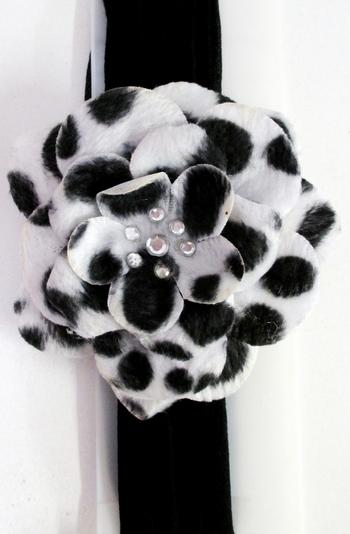 Image Animal Flower Stocking Headband