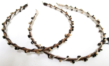 Image Suede Beaded Headband