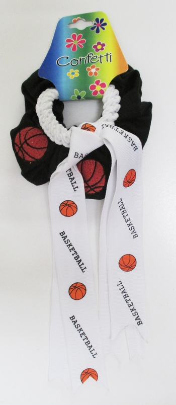 Image Basketball Scrunchie and Pony