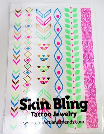 Image Glow Neon Skin Bling Bracelets