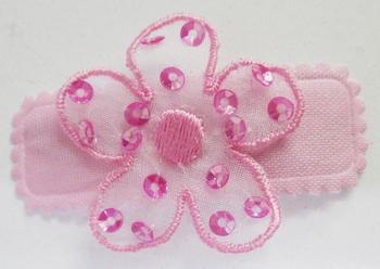 Image Chiffon Sequin Flower