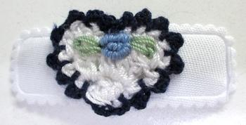 Image Crochet Heart Snappy