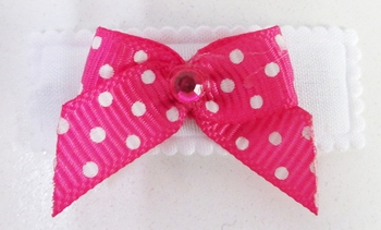 Image Neon Dotted Bow Snappy
