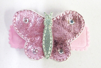 Image Metallic Butterfly Snappy