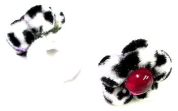 Image Dalmatian Flower Pairs