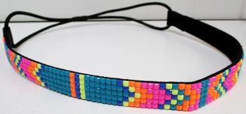 Image Neon Hippie Tile Headwrap