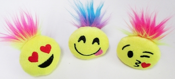 Image Hairy Emoji Ponytail