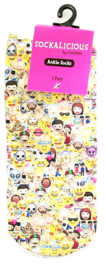 Image Collage Emojis Socks