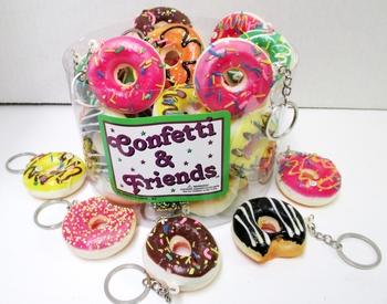 Image Donut Keychains