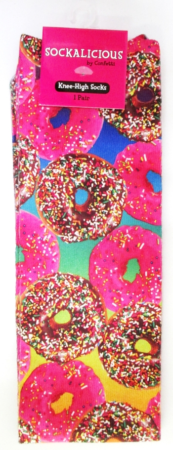 Image Donuts Knees Sock