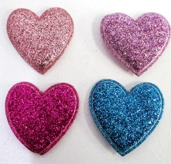 Image Sparkle Heart Velcro