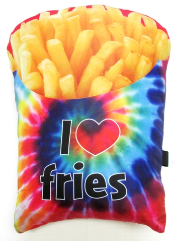 Image Fries Double Sided Autograph Pillow