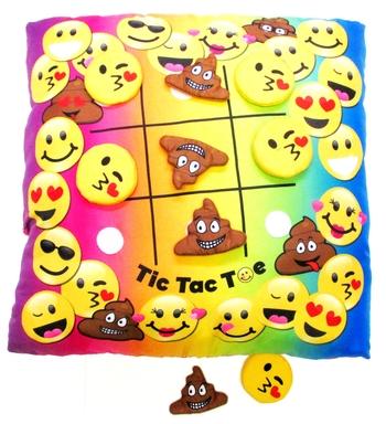Image Tic Tac Toe  Game Pillow