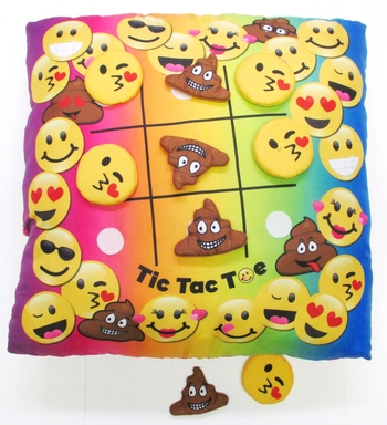 Image Tic Tac Toe  Game Pillow