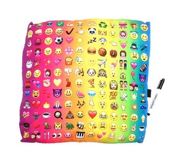 Image Multi Icon Autograph Pillow