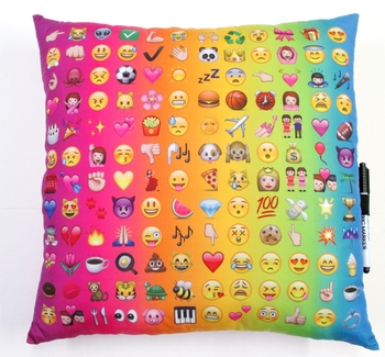 Image Multi Icon Autograph Pillow