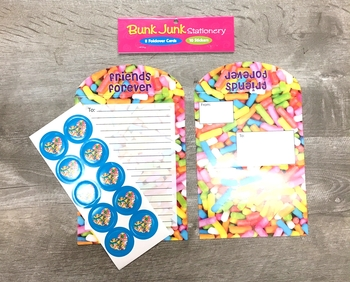 Image Sprinkle Stationery Foldover Set