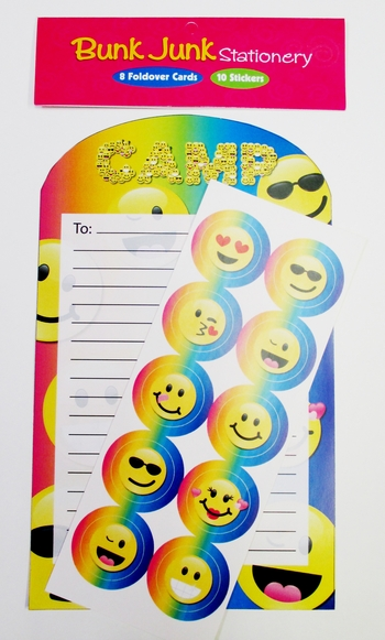 Image Camp Emoji Foldover Stationery Set