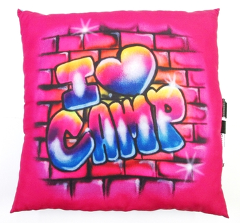 Image Camp Brickwall Autograph Pillow