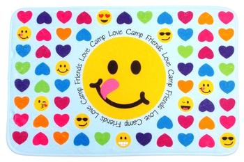 Image Heart Emoji Mat