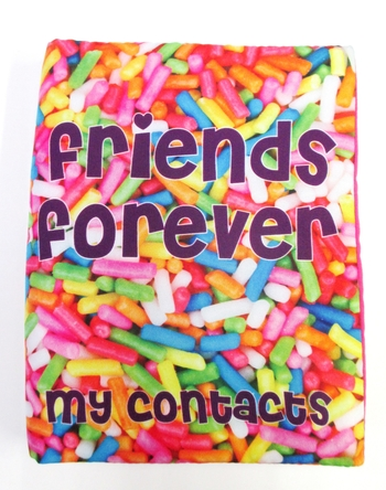 Image Sprinkles Contact Book