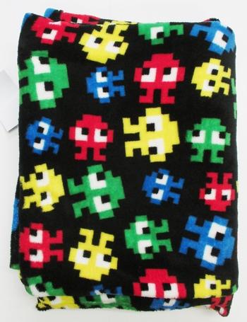 Image Envader Fuzzie Blanket