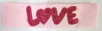 Image Love Glitter Micro Fiber Headwrap