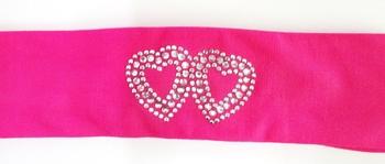 Image Double Heart Microfiber Headwrap