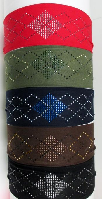 Image Argyle Microfiber Headwrap