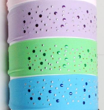 Image Random Studded Microfiber Headwrap