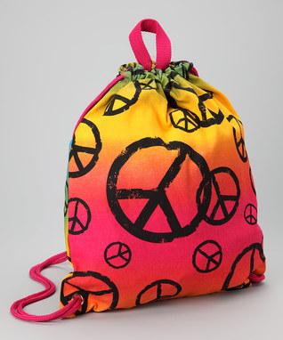 Image Peace Stamp Sling Bag