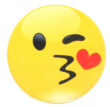 Image Smile Kissy Face Mat