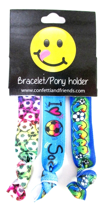 Image Soccer Bracelet Pony Pack