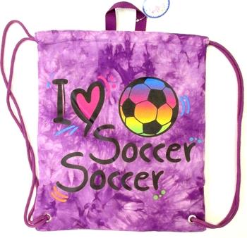 Image I Love Soccer Sling Bag