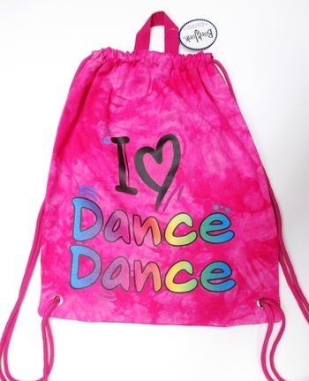 Image I Love Dance Sling Bag
