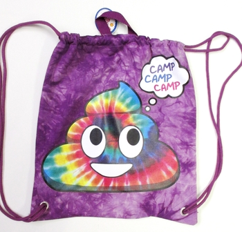 Image Camp Rainbow Poop Sling Bag