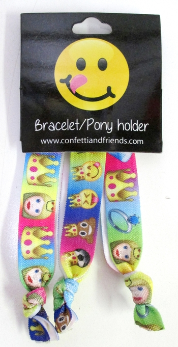 Image Crown Emoji Bracelet Pony Pack