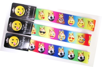Image No Slip Headwrap Crown Emojis
