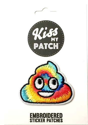 Image Rainbow Poop Sticker Patch