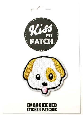 Image Dog Sticker Patch