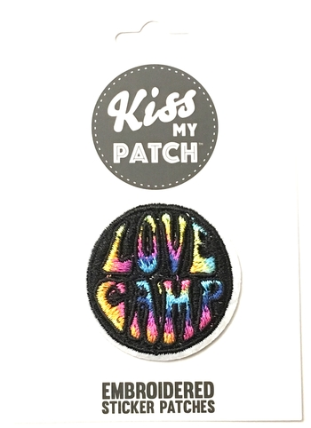 Image Love Camp Sticker Patch