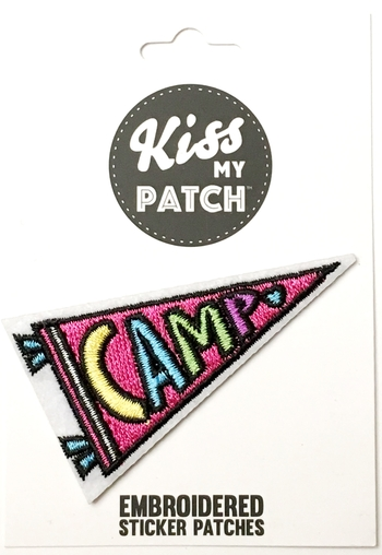Image Camp Pennant Sticker Patch