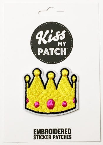 Image Crown Sticker Patch