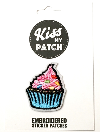 Image Cupcake Sticker Patch