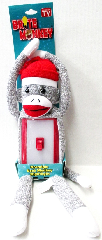Image Brite Light Sock Monkey