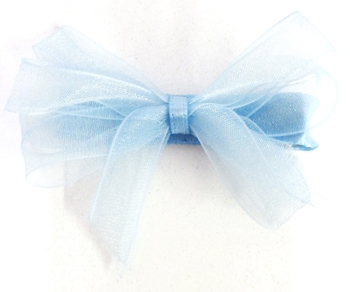 Image Chiffon Loopy Bow Clippie
